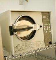 蒸気圧滅菌器